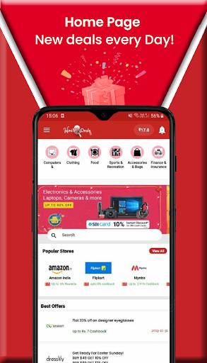 DealMyDeals - Coupons,Deals and Earn Scratch Cards screenshot 2