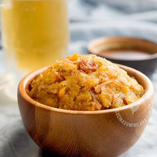 Mofongo Recipe (Garlic-Flavored Mashed Plantains).