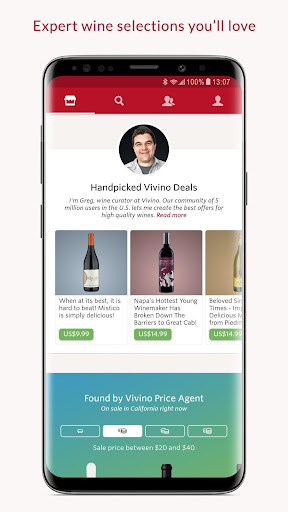 Screenshot for Vivino: Buy the Right Wine in United States Play Store