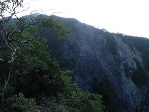 北葛岳の南斜面