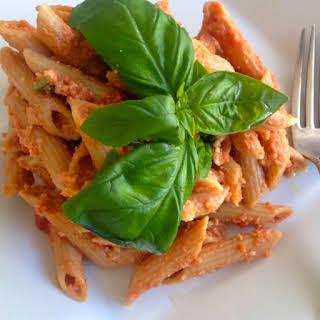 Pasta with Pesto di Trapani.