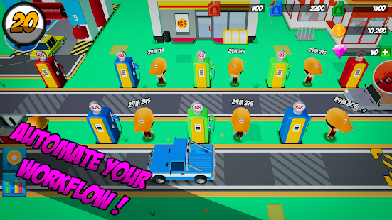 Download Idle Gas Station For PC Windows and Mac apk screenshot 3