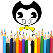 Coloring Bendy book's Mod