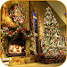 Christmas Fireplace Wallpaper Icon