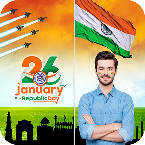 Republic Day Photo Frame : 26th Jan Photo Editor (app)