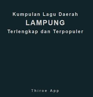 Kumpulan Lagu Lampung Terlengkap & Terpopuler - náhled