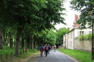 Photo: Et 2014 : Chemin de la Machine et le Château de Madame du Barry