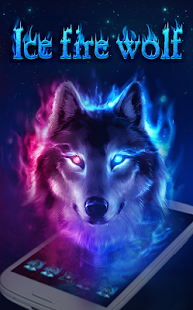 Cool Backgrounds Of Wolves On Fire