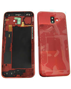 Galaxy J6 Plus Back Cover Red