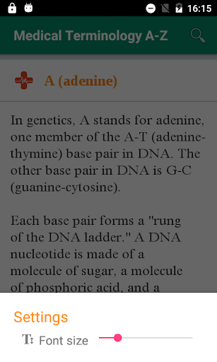 Medical Terminology A-Z - Offline (Free) 1.0 screenshots 8