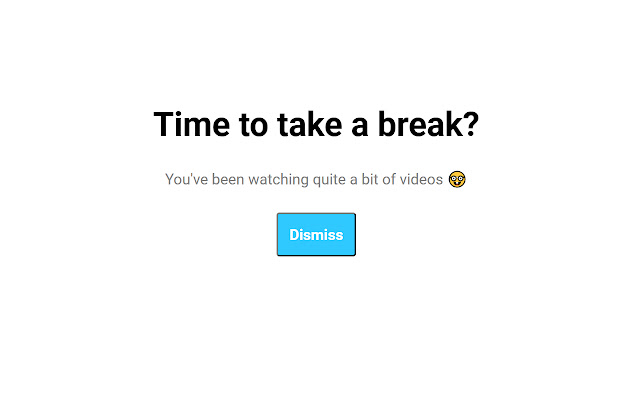 Time to Take a Break?