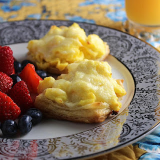 Make Ahead Scrambled Eggs in Puff Pastry.