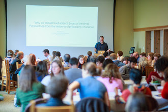 Photo: Naomi Oreskes lecture in the TLC's FLS lunch; another packed house!