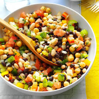 Marinated Three Bean Salad.