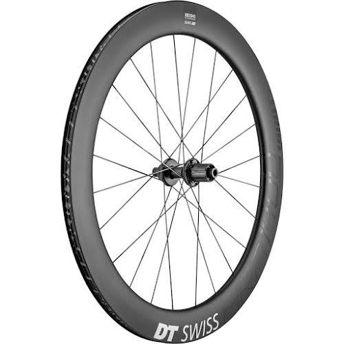 DT Swiss ARC 1400 DiCut 62 Rear Wheel -  700, 12 x 142mm, 6-Bolt/Center-Lock, HG 11, Black