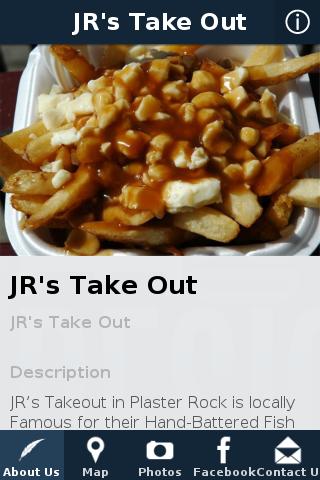 JR's Take Out