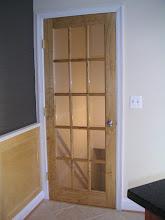 Photo: Door to off-street parking