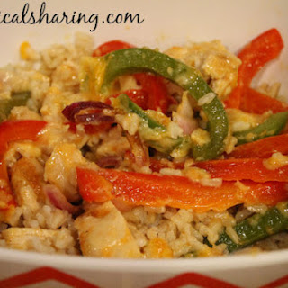 Easy Chicken Fajita Bake