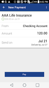 Kirtland FCU Mobile Banking screenshot 4