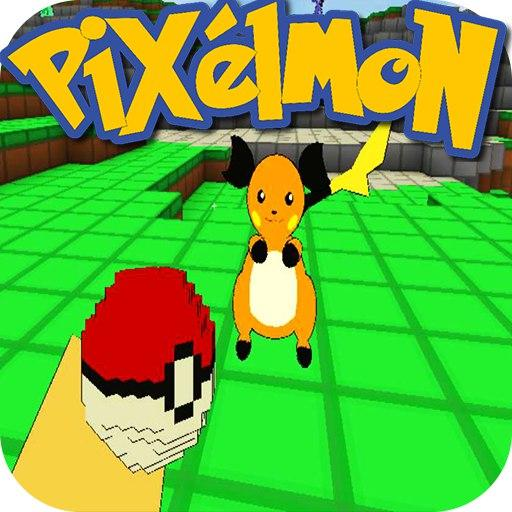 Exploration Pixelmon world now: Teenagers craft 3