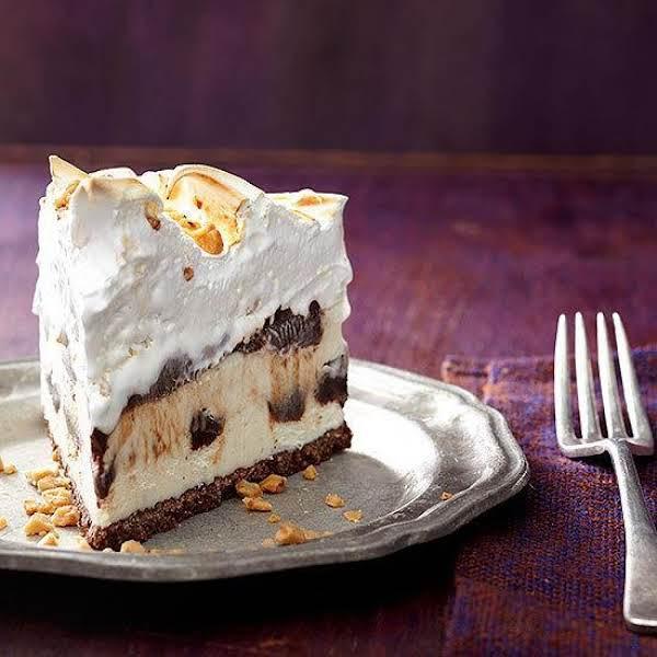 Eggnog And Rum Fudge Pie Recipe