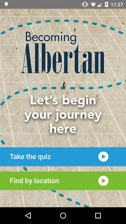 Becoming Albertan- screenshot