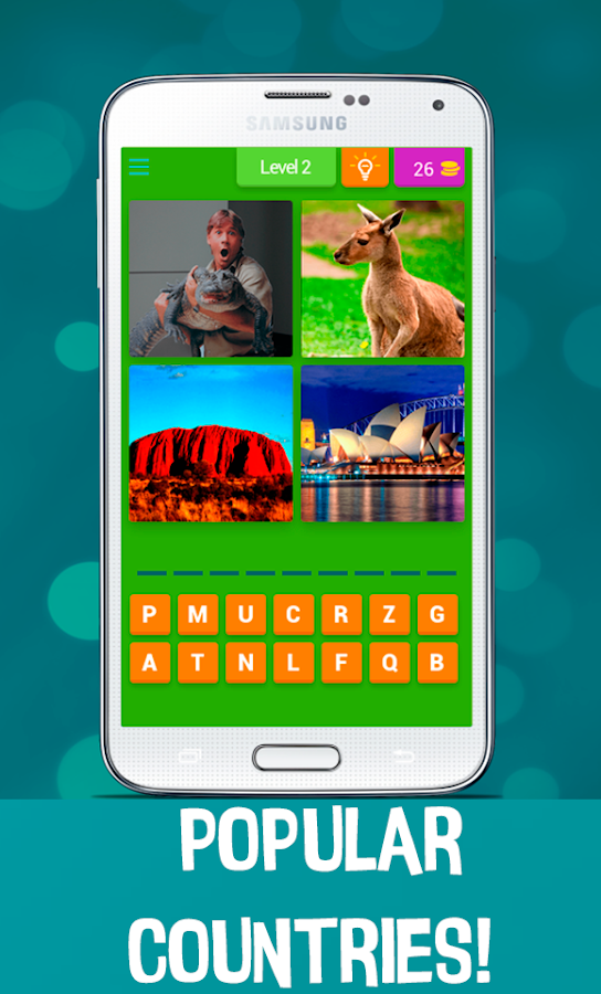 4 Pics 1 Word - Country Quiz- screenshot