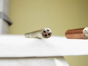Photo: 9 mm Pin Messingrohr und Kupfer