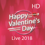 Live Happy Valentines Day Wallpapers 2018