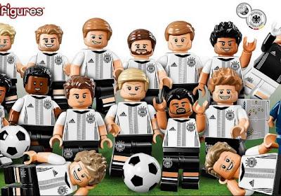 De Duitse nationale ploeg is binnenkort te verkrijgen als Lego-poppetjes