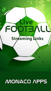 Live Football Streaming Links - náhled