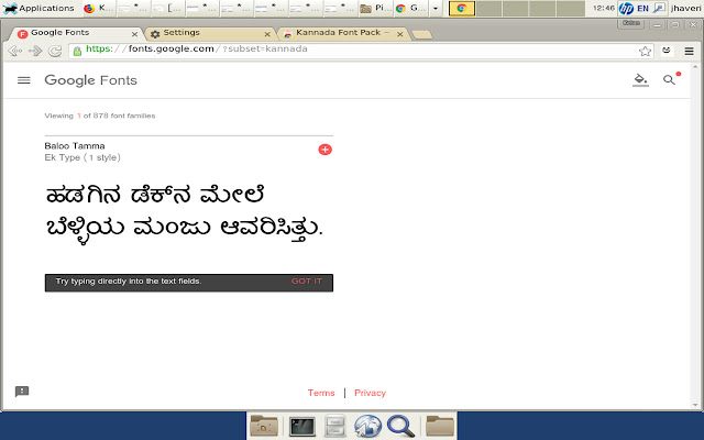 Kannada Font Pack