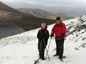 Photo: Breda Noonan's A walk to Skregmore and Beenkeragh in the Macgillycuddy's Reeks, Sunday February 9th, 2014. 2 of 4