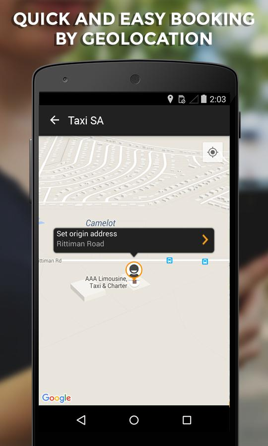 E TAXI SA- screenshot