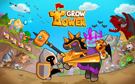Grow Tower: Castle Defender TD - screenshot