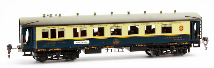 Photo: CIWL 1st Class Pullman Coach no. 3350 DE