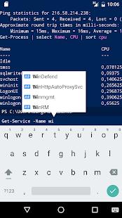 PowerShell Console (WinRM) - náhled