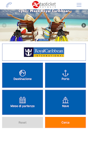 Ticketroyal - Specialisti in Royal Caribbean- miniatura screenshot