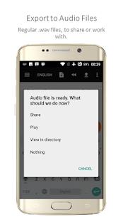 TTSReader Pro Apk – Text To Speech 4