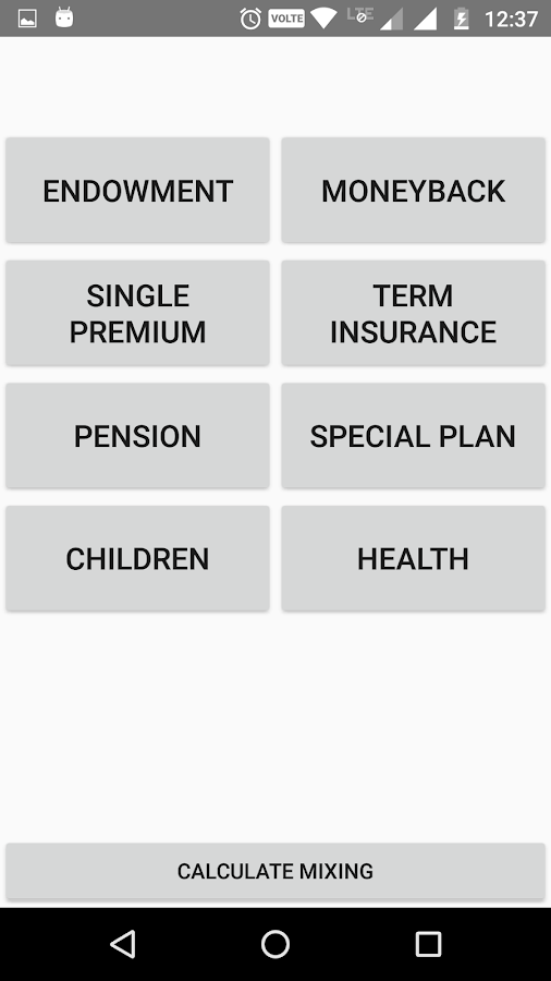 LIC Premium Calculator- screenshot