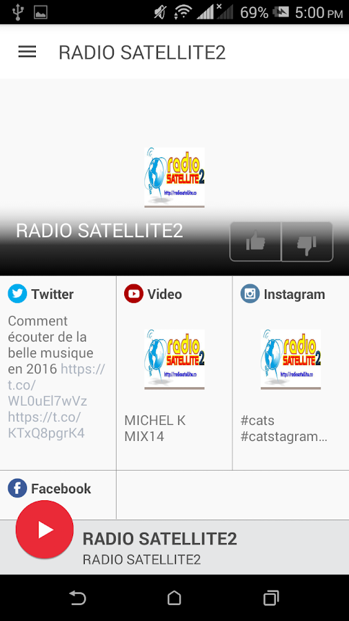 RADIO SATELLITE2- screenshot