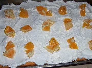 Orange Creamsicle Cupcakes (low cal.)