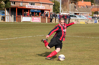 Photo: 30/03/13 v Reepham Town (Anglian Combination League Premier Division) 3-1 - contributed by Gary Spooner
