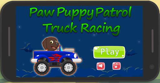 Paw Puppy Patrol Truck Racing