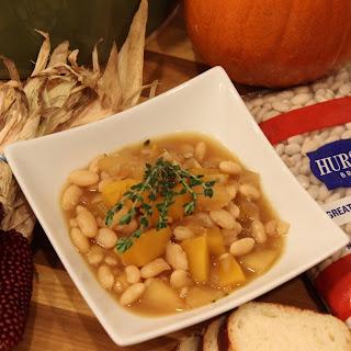 Great Northern Bean, Pumpkin and Apple Stew Recipe
