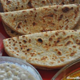 Chana Daal Paratha - Bengal Gram Lentil Stuffed Paratha