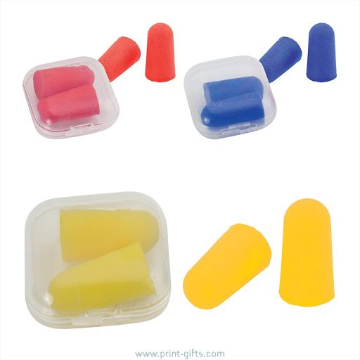 Ear Plugs Sets in Printed Case