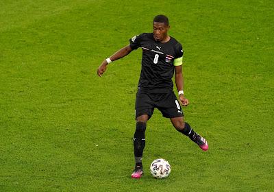 """David Alaba fier de rejoindre les huitièmes de finale : """"Pouvoir affronter l'Italie à Wembley est un honneur"""""""