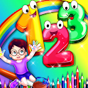 123 Numbers : Kids Learning Counting & Tracing icon