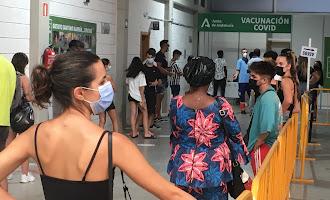 Vacunación masiva sin cita en el Palacio de los Juegos